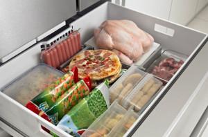 congelateur aliments